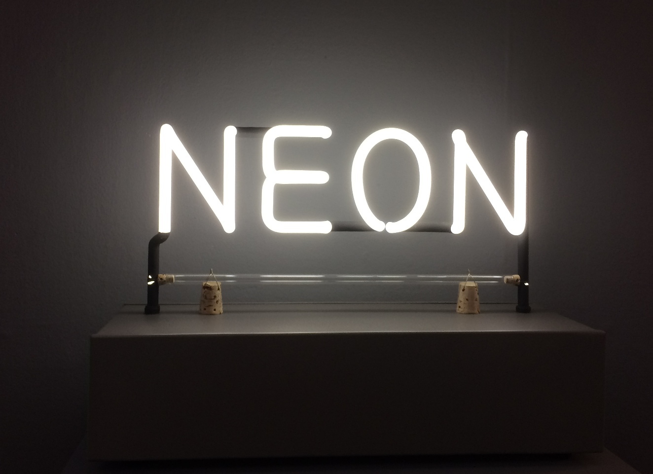 neon light art